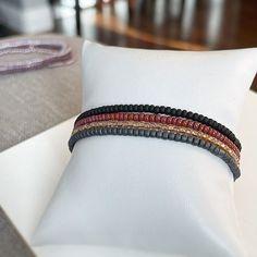 Cozy Nights 4 Individual Beaded Bracelet Set Stretch | Etsy Stack Bracelets, Stackable Bracelets, Stretch Bracelets, Silver Bracelets, Beaded Bracelets, Name Bracelet, Bracelet Set, Twin Girls, Personalized Jewelry