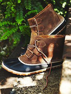 Loving these Sorel waterproof boots