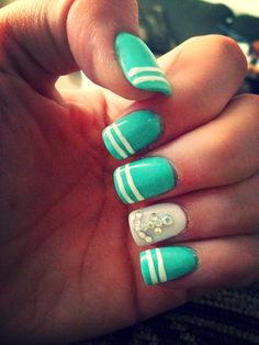 #Anchor nails #Nautical