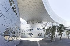 Georges-Freche School of Hotel Management, Montpellier, France | Studio Fuksas | Archinect