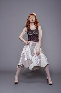 Blouse and skirt by Fanfaronada