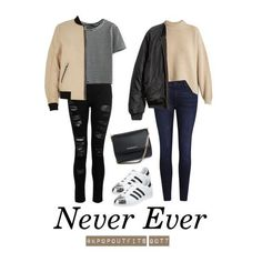 "Outfits inspired by ""Never Ever"" by GOT7 (pt.1)"