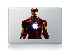 Iron manMacbook decal Macbook sticker Mac by Perfectimpression, $8.99