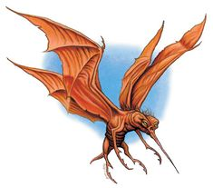 D&D stirge - Google Search Lost Mines Of Phandelver, Flying Monsters, Monster Art, King Kong, Creature Design, Fantasy Creatures, Werewolf, Fantasy Characters, Dungeons And Dragons