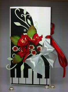 Шоколадница для учителя по фортепиано