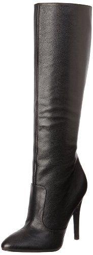 Amazon.com: Nine West Women's Braidy Boot,Black Leather,8 M US: Shoes