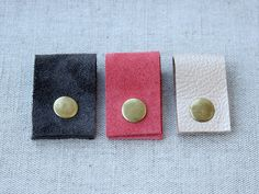 Leather Headphone wrap Simple Elegant Suede Leather Cord Organizer Women's Gift Coral Pink Gray Gold Leather Mother's Day Gift by LovekaHandmade on Etsy