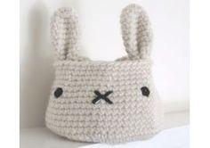 Bunny Basket Crochet Pattern — Family Find