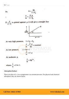 Surface Chemistry Class 12 Notes   Vidyakul Surface Chemistry Notes, Chemistry Class 12