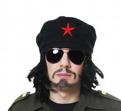 33e822962d484 Black Beret Hat Our Black Beret is the perfect accessory for those wanting  to portray Che