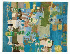 "Dagmar Lodén ""Oxelösunds skärgård"", 1969 Alice Lund Textilier AB"