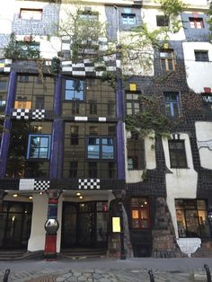 KUNST HAUS WIEN. Museum Hundertwasser in Wien, Wien Friedensreich Hundertwasser, Museum, Vienna, Places To Travel, Europe, Mansions, Beautiful, Country, Architecture
