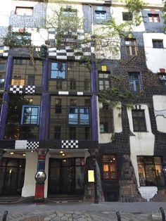 KUNST HAUS WIEN. Museum Hundertwasser in Wien, Wien Friedensreich Hundertwasser, Museum, Vienna, Beautiful, Mansions, Architecture, House Styles, Woman Quotes, Austria