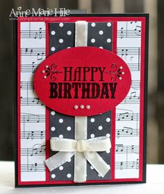 Stampin' Anne: Tic-Tac-Toe Birthday for Paper Players #165