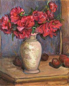 Peonies, 1906, Wladyslaw Slewinski