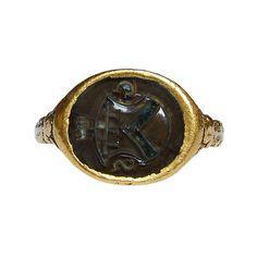 16th century Renaissance Armorial Signet Ring