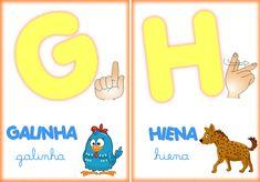Atenção pedagogos, esse alfabeto com certeza vão lhe ajudar no ensino as crianças do alfabeto tanto em Libras como também em português com as ilustrações dos objetivos representando uma letra.…
