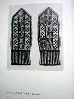 YARN JUNGLE: Nordic knitting mittens