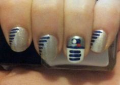 R2D2 nail. Very happy with how they turned out.