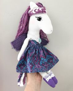 Violet the Pegasus by EndeeMade on Etsy