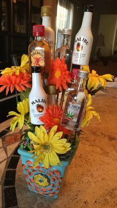 Booze Bouquet! Booze Bouquet, Table Decorations, Gifts, Ideas, Home Decor, Presents, Decoration Home, Room Decor, Favors