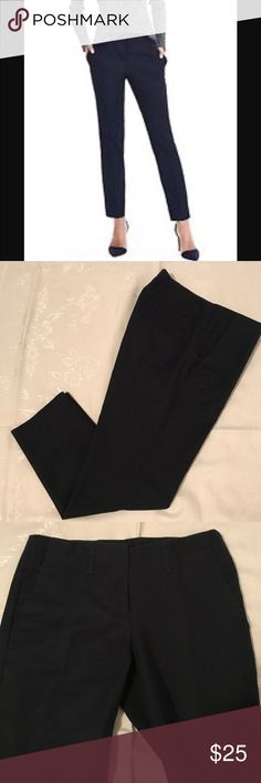 Cynthia Rowley pant, 97% cotton 3% spandex size 2 Navy blue pant from Neiman Marcus. Perfect for work. Excellent condition. Thank you for looking and sharing Cynthia Rowley Pants Ankle & Cropped