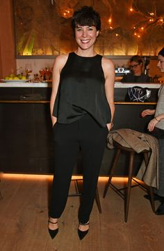 Club Monaco and Garance Doré Celebrate 'Love Style Life' Book Tour with Private VIP Dinner in London on December 14, 2015.   - ELLE.com