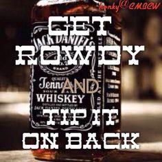 tip it on back...
