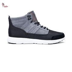 half off a3190 defff Chaussures Bandito Grey Black - Supra  Amazon.fr  Chaussures et Sacs