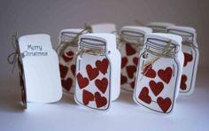 Bug jar shaped card