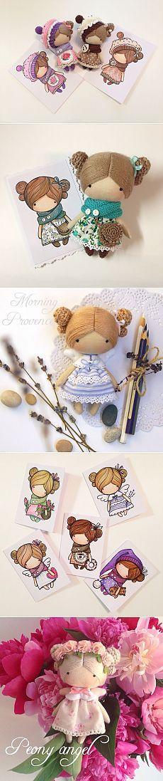 Очаровательные куколки от Magicdoll