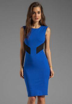 Bailey 44 Biotech Color Block Cut Out Body Con Dress on shopstyle.com