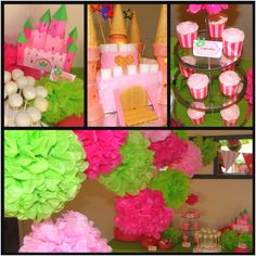 Olivia's Princess Party for her 2nd Birthday