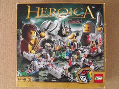 LEGO GAMES 3860 HEROICA CASTLE FORTAAN RARE (1 peice missing)