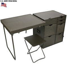 To know more about US.ARMY FIELD DESk, visit Sumally, a social network that gathers together all the wanted things in the world! Featuring over 234 other US.ARMY items too! Table Desk, Table And Chairs, Military Bedroom, Outdoor Folding Table, Folding Chairs, Campaign Desk, Convertible Furniture, Chair Pictures, Small Storage