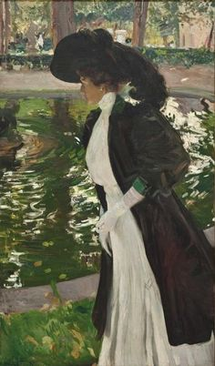 Sorolla and the Paris Years  gardens of la Granja, 1907