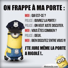Read Blagues minions from the story Mon livre sur tout et rien{FINI} by with 108 reads. On part sur des blagues minion qui me. Minion Humour, Minion Jokes, Minions Quotes, Funny Jokes, Hilarious, Image Fun, Lol, French Quotes, Geek Humor