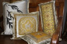 New Fall 2013 collection from E Alexander Designs-Antique French Ecclesiastical Collection Wingback Chair, French Antiques, Accent Chairs, Neutral, Cushions, Throw Pillows, Textiles, Furniture, Collection