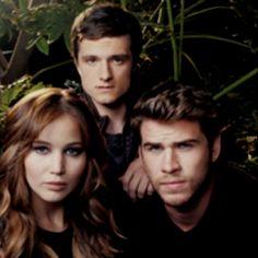 Katniss, Peeta, and Gale(: