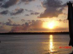 Por do sol em João Pessoa - Paraíba - Brasil