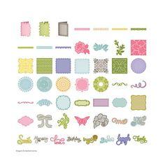 Anna Griffin® Elegant Embellishments Cricut Cartridge