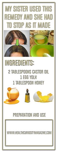 My Sister Used This Remedy And She Had To Stop As It Made Her Hair Grow Like Crazy!