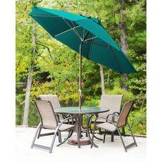 outdoor indoor herringbone ink blue patio market umbrella pillow
