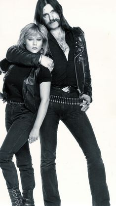 Samantha Fox & Lemmy. Maybe I should have created another category for them, and maybe I will...