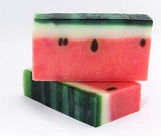 Watermelon Soap - Wondermelon - natural, handmade soap
