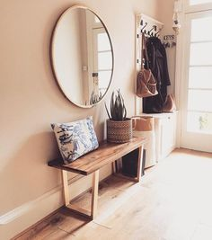 Best Of Hall Bench with Mirror