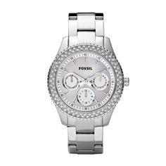 Fossil  Stella Stainless Steel Watch $115