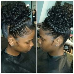 Goddess Braids with Curls For many years I had dreams of having my hair styled w. Goddess Braids w Pixie Hairstyles, Cute Braided Hairstyles, My Hairstyle, Brunette Hairstyles, Wedding Hairstyles, Braided Ponytail, Braided Crown, Bouffant Hairstyles, Beehive Hairstyle