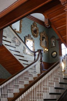 Manor staircase
