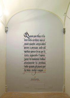 DIALOGO - Spoleto, Collicola on the Wall, Palazzo Collicola 2012.